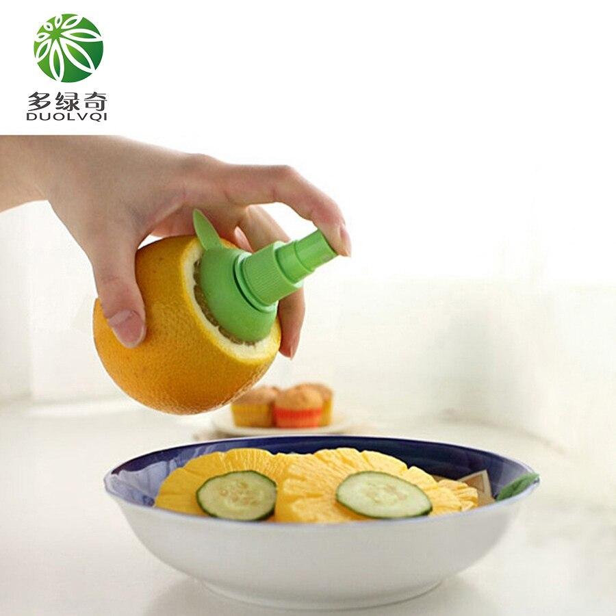 Mini Lemon Juice Fruit Citrus Juicer Sprayer Spray Squeezer Home Kitchen Tools