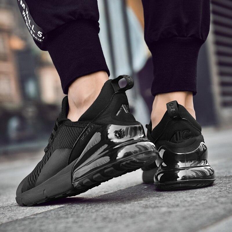 Coussin d'air 270 marque chaussures de Sport en plein air baskets hommes en cours d'exécution amorti confortable Jogging marche formateurs Gym chaussures 2019