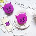 2600 mAh Banco de Potência Novo Design Faz Cocô Emoji Bateria banco de Potência Portátil Bonito Dos Desenhos Animados Do Telefone Carregador de Bateria Para Todos Os Telemóveis telefone
