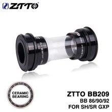 ZTTO – supports de pédalier en céramique à ajustement serré pour pièces de vélo de route, pédalier K7 GXP de 24mm, BB209, BB92, BB90, BB86, 22mm