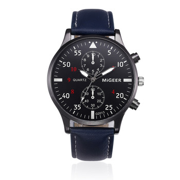 Retro Design Leather Band Watches Men Top Brand Relogio Masculino 2018 NEW Mens Sports Clock Analog Quartz Wrist Watches #Zer 2
