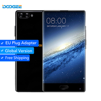 DOOGEE MIX 4GB/6GB+64GB Dual Camera 5.5'' AMOLED MTK Helio P25 Octa CoreAndroid 7 In Stock mobile phones