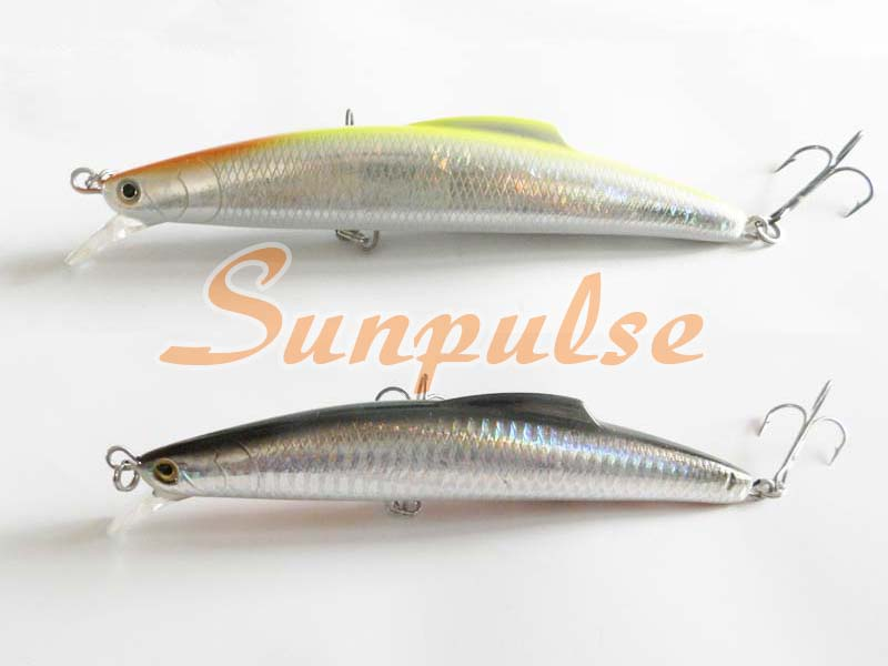 14cm 30g Fishing Lure Sea Tackle Hard Plastic False Bait Deep Swim Bait China Hook Sinking type