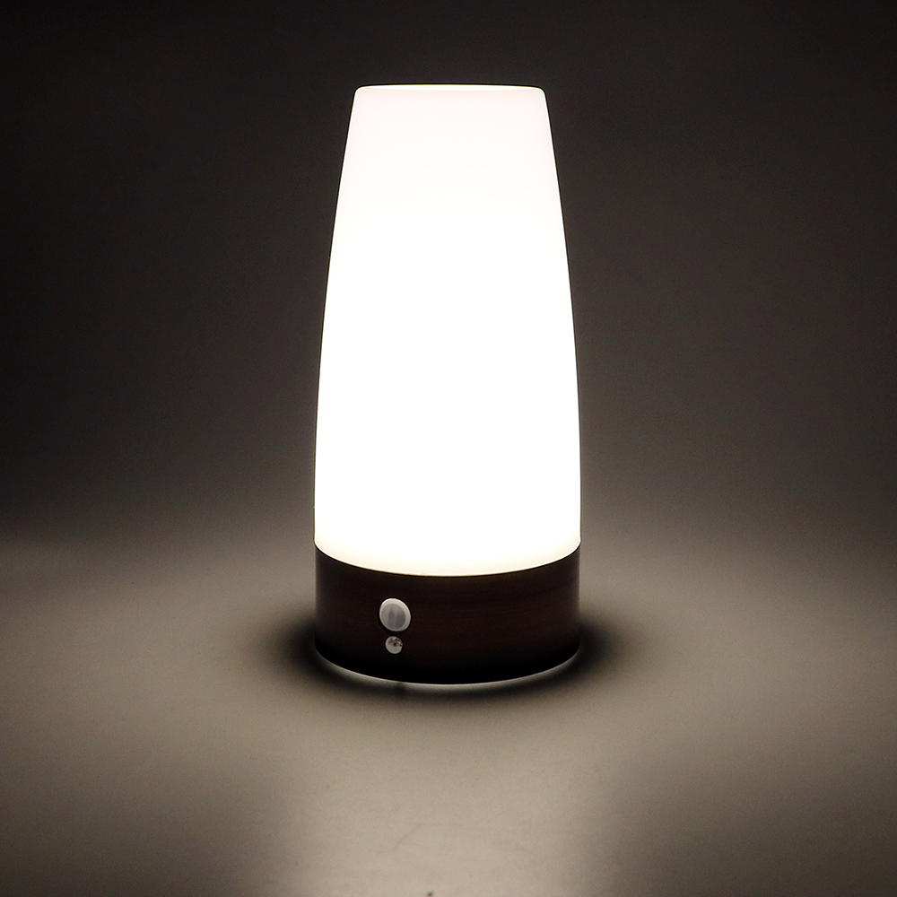 ITimo Table Lamp Convenience Warm White Wireless Light Sensor + PIR Motion Sensor Bedroom Light PIR Night Light
