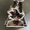 Lujo y Fantasía Classic Anime Dragon Ball Goku Negro Colgante Llavero Llavero Evil Goku Vegeta Trunks llavero de Acrílico juguete
