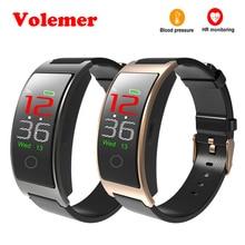 Volemer Новый CK11C 0,96 Цвет экран браслет приборы для измерения артериального давления кислорода сердечного ритма мониторы браслет Спорт фитнес