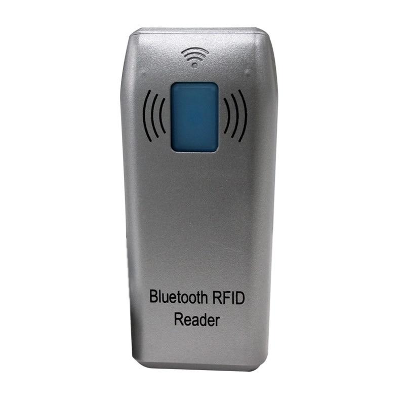 ID IC Sans Fil Bluetooth RFID Lecteur 125 khz EM Carte 13.56 mhz IC Carte Gagnant/Android/ios
