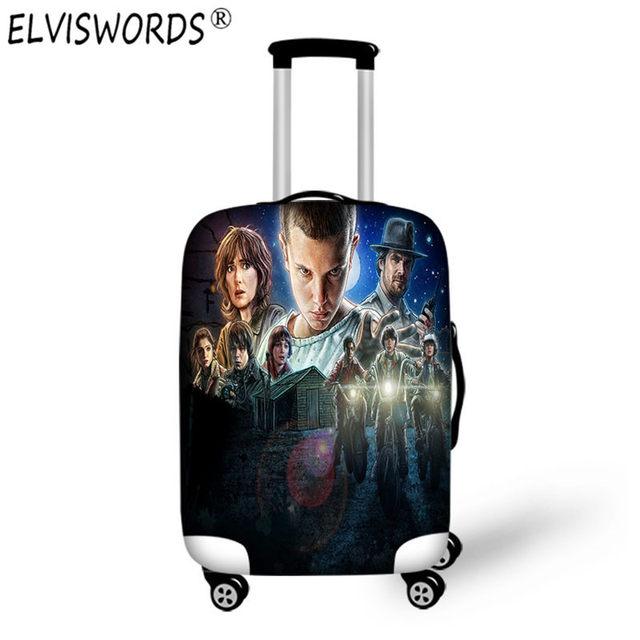 ELVISWORDS Case Stranger Things Custom 3d Print Anime Luggage Set Baby  Suitcase for Travel Waterproof Baggage