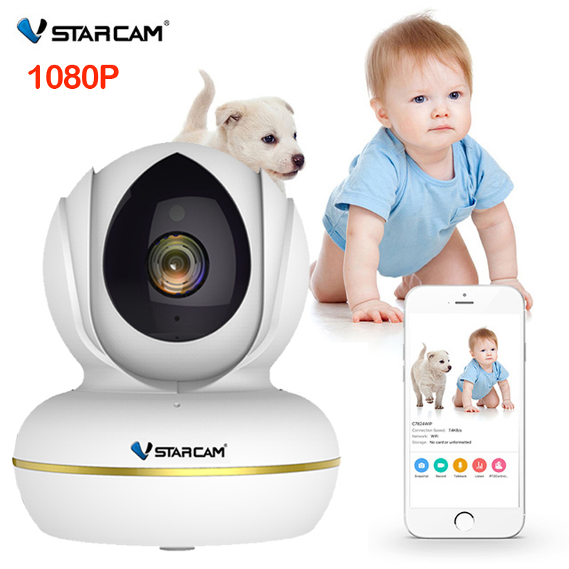 VStarcam Baby Monitor 1080 P 720 P กล้อง IP WiFi การเฝ้าระวังวิดีโอความปลอดภัยไร้สายด้วย Two Way Audio Night vision-ใน จอสำหรับดูเด็กทารก จาก การรักษาความปลอดภัยและการป้องกัน บน AliExpress - 11.11_สิบเอ็ด สิบเอ็ดวันคนโสด 1