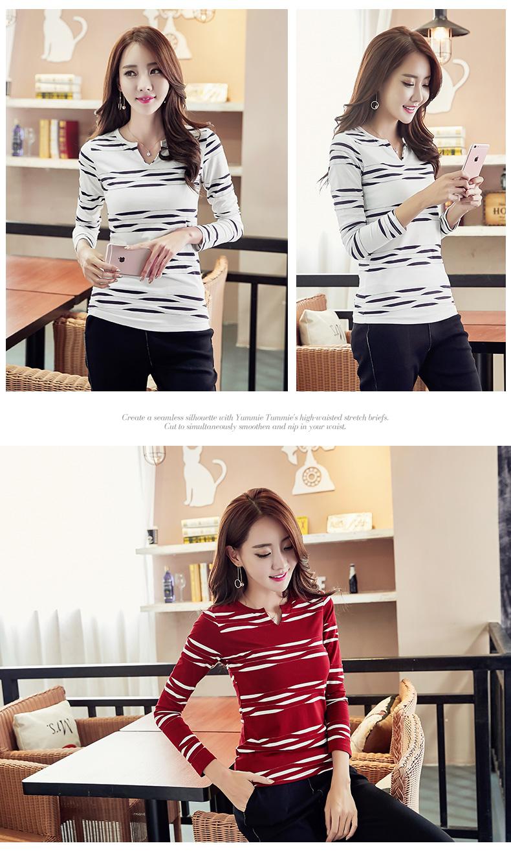 HTB1yhLlSpXXXXa2aFXXq6xXFXXXT - 2017 Autumn Winter Korean T-shirts For Women Cotton Fashion T Shirt