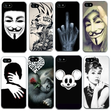 Soft Cover For Iphone 4 4S 5 5S SE 6 6S 7 7Plus Cases Thin TPU