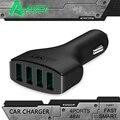 Aukey 9.6a/48 w 4-port usb car charger com aipower tecnologia para iphone, ipad air 2, samsung galaxy s6/s6 edge