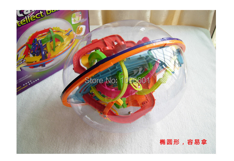 Humor Puzzle Ball Small Educational Magic Intellect Ball Marble Puzzle Game Perplexus Magnetic Balls Outdoor Fun & Sports