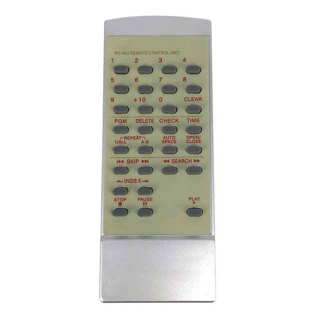 New Universal Remote control RC 342 For TEAC CD Remoto Controle