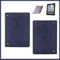 Luxury PU Leather Table For Ipad 6 Ultra Slim Stand Protective Case For IPad Air2 New