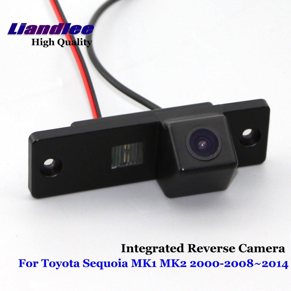 Liandlee Inverso Dell'automobile Per Toyota Sequoia MK1 MK2 Posteriore vista di Backup Telecamera di Parcheggio/SONY CCD HD Integrato Ad Alta qualità