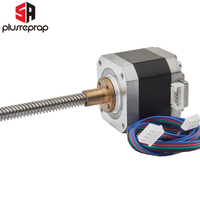 Stepper Motor NEMA17 40mm Screw Rod Stepper Motor T8 Pitch 2mm Lead 8mm Screw Linear Free Shipping 3D Printer Parts