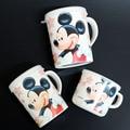 Copos Da Melamina Drinkware Bonito Dos Desenhos Animados Do Bebê do bebê com Punho Natureza Material seguro garoto drinkware