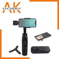 موزا Mini-Mi 3-Axis يده Gimbal شحن لاسلكي مثبت للهاتف عمل الكاميرا VS Zhiyun السلس 4 oomo موبايل 2