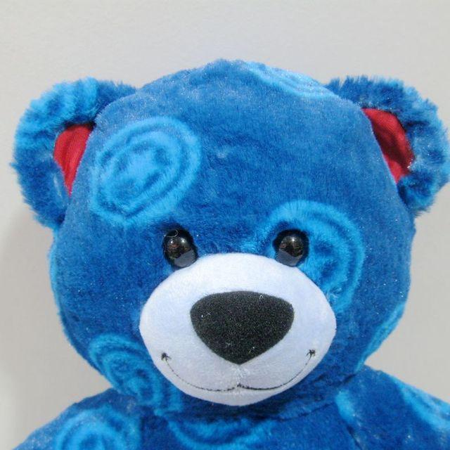 Gran oferta, Original, especial, Capitán América, oso azul, bonito peluche, juguete de felpa, regalo de cumpleaños para niños