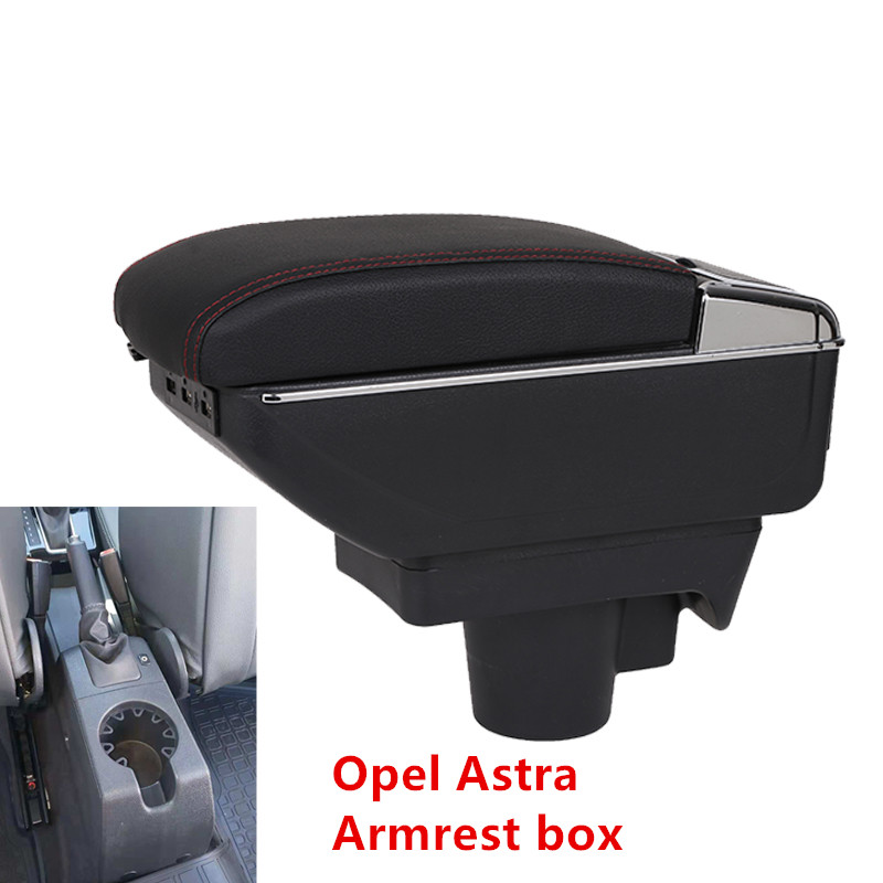 For Opel Astra Armrest font b Box b font Opel Astra H Universal Car Central Armrest