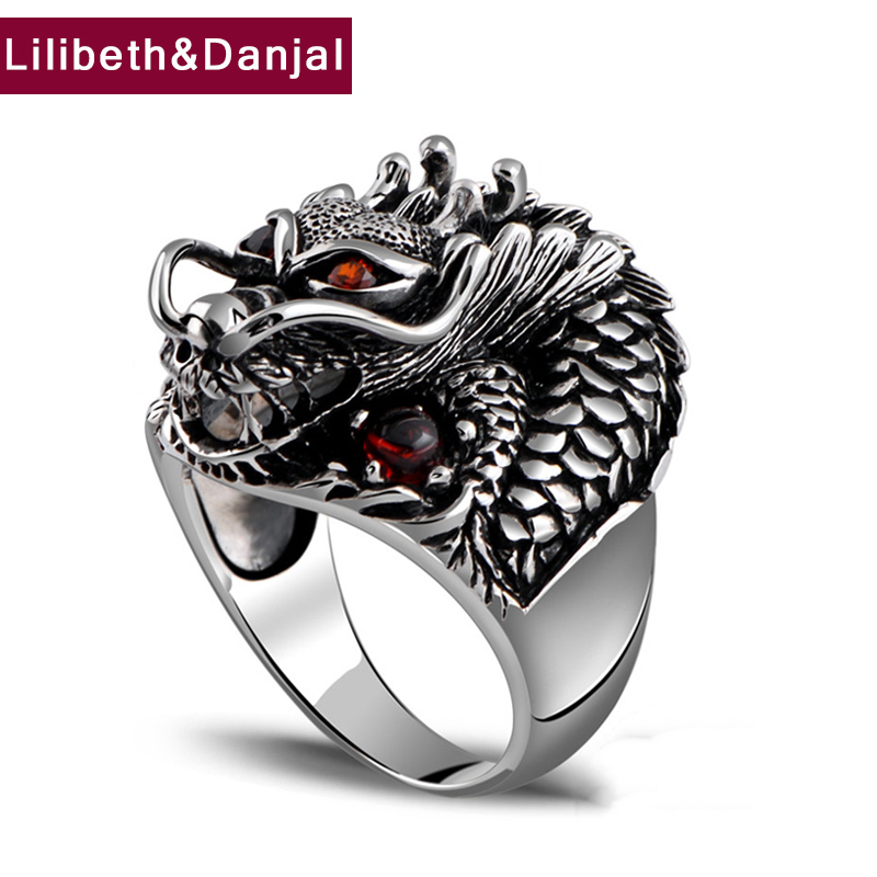 100 Real 925 Sterling Silver Ring Thai Silver Powerful