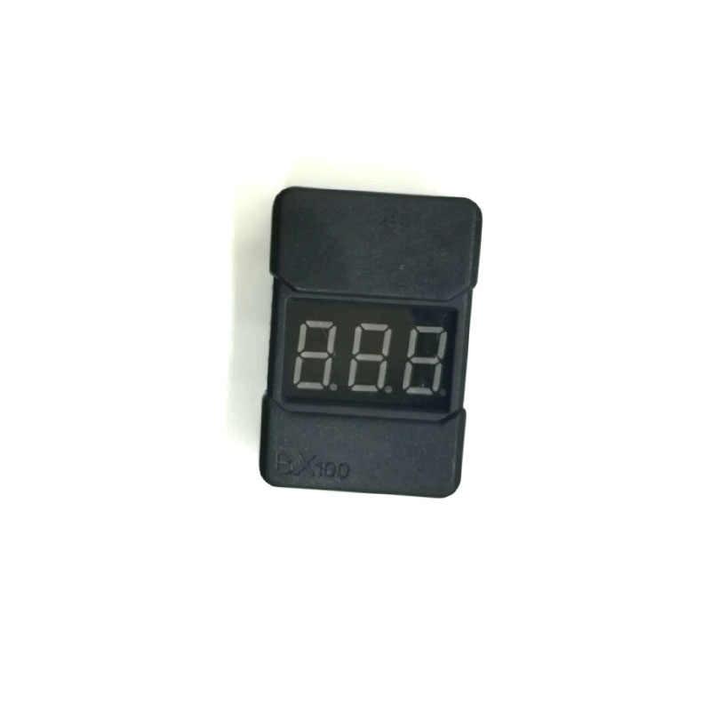 10 قطعة Mini المحمولة BX100 1-8S يبو بطارية الجهد المنخفض عرض الطاقة تستر الطنان إنذار مدقق مع مكبرات الصوت المزدوجة في الأوراق المالية