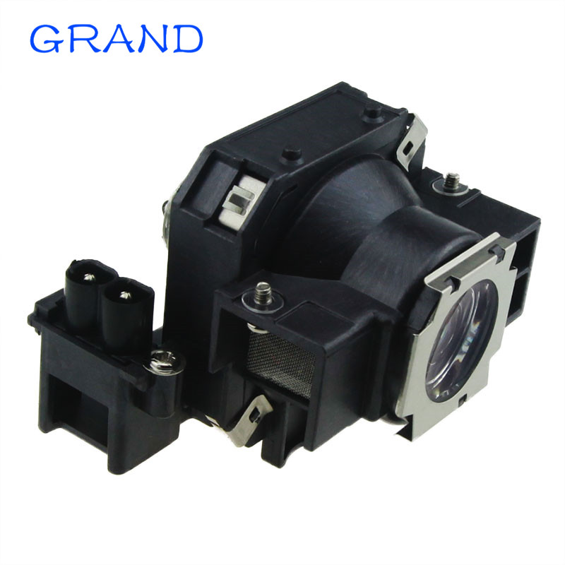 Replacement Projector Lamp ELPLP32 / V13H010L32 For EPSON EMP-750/EMP-740/EMP-765/EMP-745/EMP-737/732 with Housing HAPPY BATE projector lamp elplp16 without housing for epson emp 51 emp 71