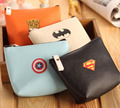 YL019 Unisex coin purses 13*11*3.5cm hot sell Creative League PU coin purse bag personalized key cases Wholesale