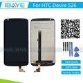 Новый Для HTC DESIRE 526G 526 ЖК-Дисплей Замена HTC DESIRE 526G ЖК-Дисплей С Сенсорным Экраном с Планшета Ассамблеи Black