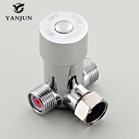 YANJUN Faucets Hot Cold Temperature Mixing Valve For Touchless Sensor Faucet Polished Chrome