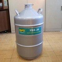 YDS-20 latas para Nitrogênio Líquido Tanque De Armazenamento de nitrogênio líquido Tanque Criogênico Recipiente Dewar Nitrogênio com Alça