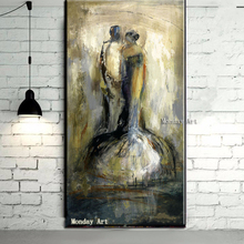 Handmade Large figure oil Painting Modern Home Decor Wall Art Picture Handpainted portrait Oil Paintings on canvas painting gift