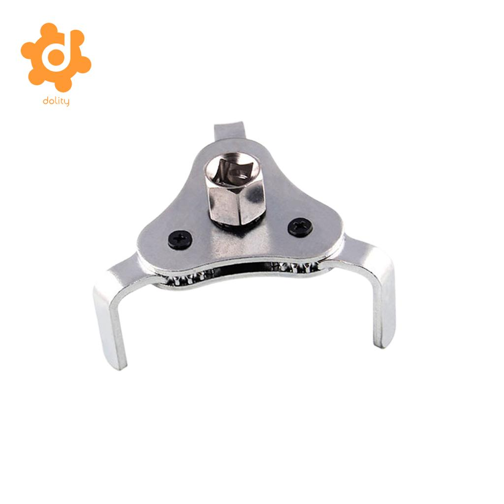 2 Way Oil Filter Wrench Auto Adjustable 3 Jaw Remover Socket 1/2 to 3/8