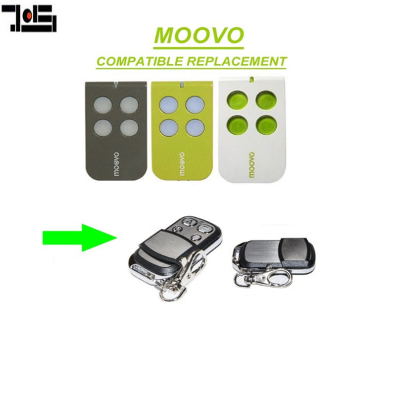 For Moovo MT4,MT4G,MT4V Garage Replacement Remote Control