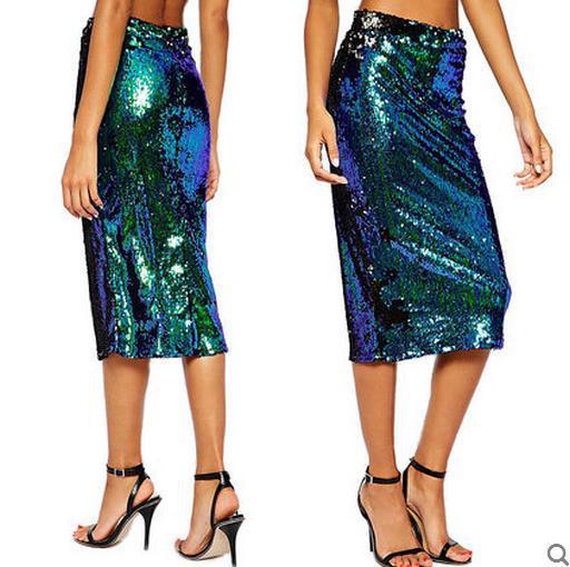 Online Buy Wholesale sequin skirt green from China sequin skirt ...