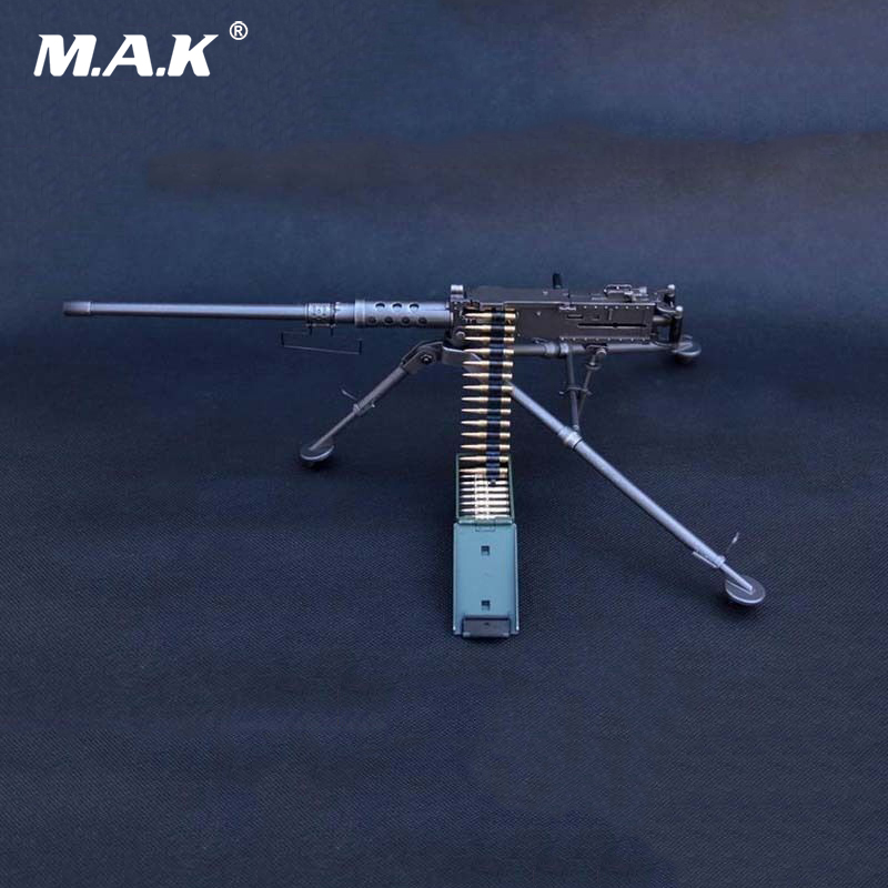 1/6 Scale M2 Machine Gun Model Toy US Army Soldier Weapon Model For Action Figure Accesssories