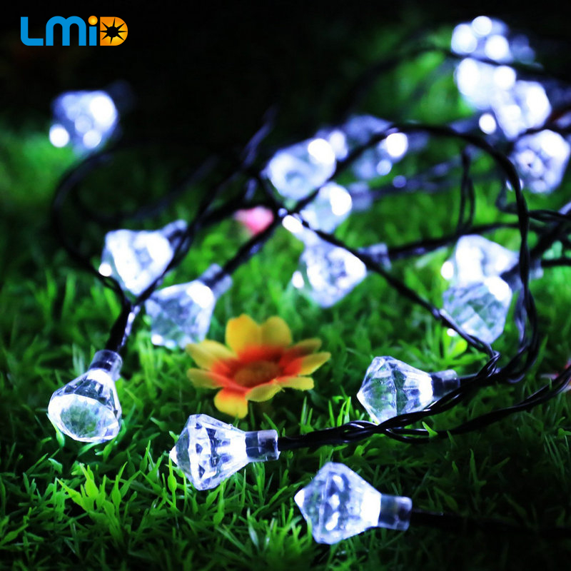 Lmid Garden Home Decoration Solar LED String Lighting Solar Lamps For Garden Waterproof Outdoor Lighting