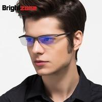 Aluminium Magnesium Anti Blue Laser Vermoeidheid stralingsbestendige mannen Optische Brillen Brilmontuur Oculos de grau Brillen 130
