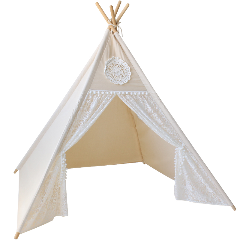LoveTree Canvas Teepee Canopy Tent Playhouse Kids toy teepee tent Play room Indoor outdoor tourist game room teepee - aliexpress.com - imall.com  sc 1 st  iMall & LoveTree Canvas Teepee Canopy Tent Playhouse Kids toy teepee tent ...