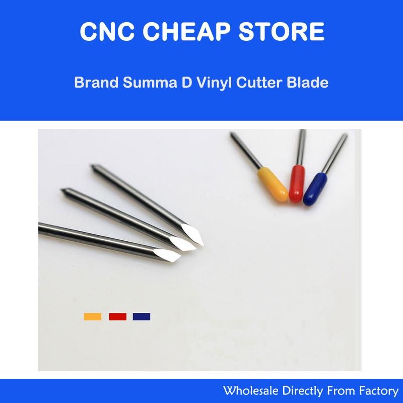 15pcs 45 60 30 Degree Summa D Blades Cutting Plotter Vinyl