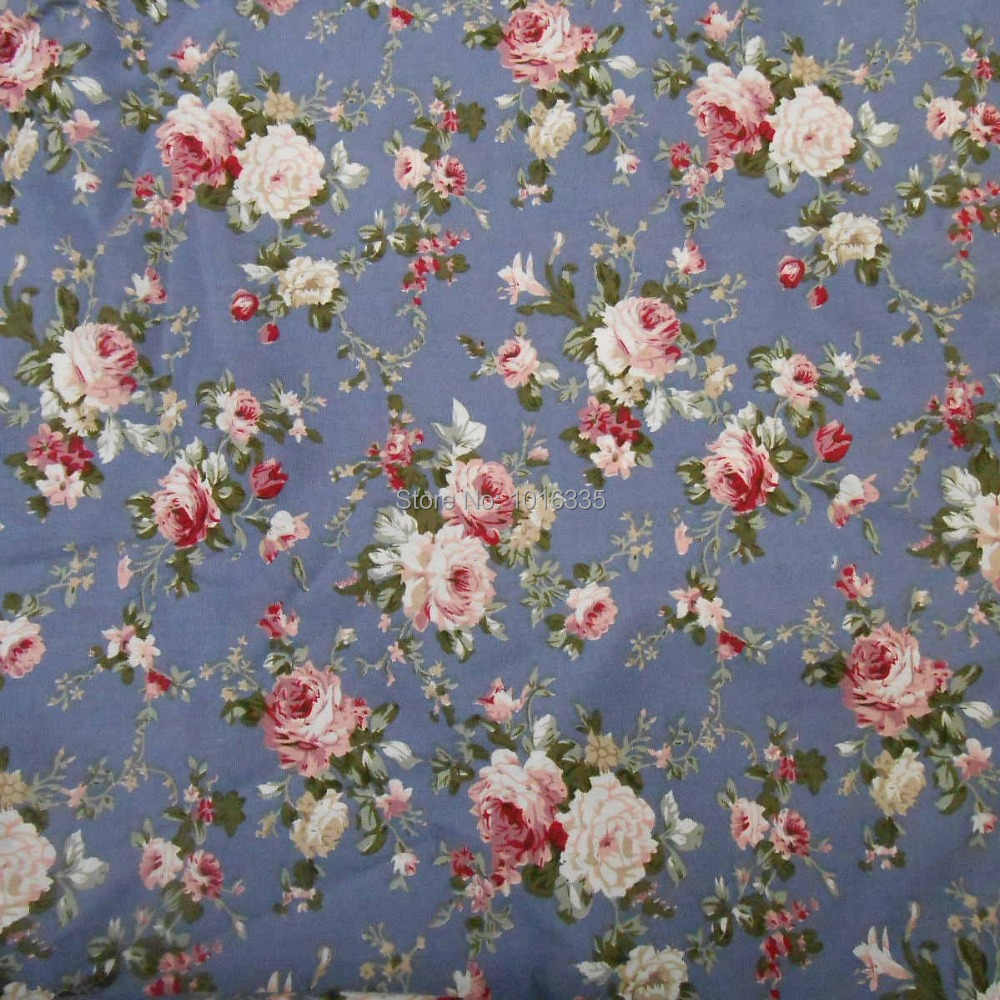 100/% Cotton Floral Cotton Fabric Poplin Fabric