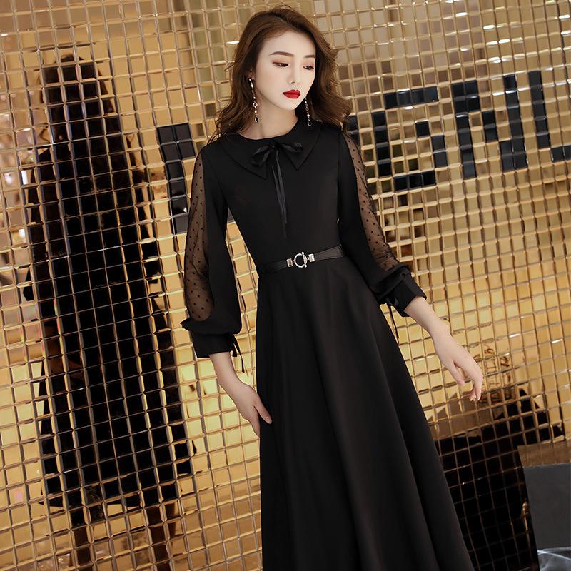 e89b3760ce23b HOT SALE] Black Formal Birthday Evening Dresses Long Evening Gowns ...