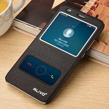 Кожаный чехол для Huawei Honor 5C 5X 6X телефон с Вид из окна Высокое качество протектор защитный чехол-книжка аксессуары