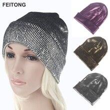 bf132812de834 Drop Shipping 2017 Fashion Women Men Winter Warm Beanie Knit Crochet Ski Hat  Braided Turban Headdress