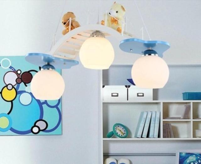 US $198.0 |Kinder spielzeug moderne deckenleuchten kinder schlafzimmer  lampen und laternen Schöne cartoon lampe Kinder mädchen prinzessin zimmer  ...