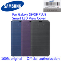 Original Samsung S9 LED Smart Leather Case For Samsung Galaxy S9 S9 S9 Plus G960 G965