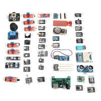 New Arrival 45 In 1 Mini Sensor Module Board Kit Upgrade Version For Arduino DIY Modules