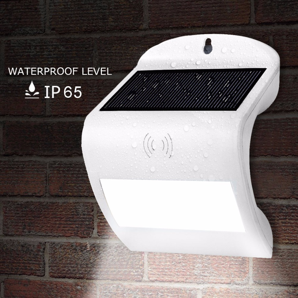 LED Solar Lamp Panel Light Radar Motion Sensor Outdoor Wall Lamp Lighting Garland Yard Pathway Garden Solar Lantern Luminaria