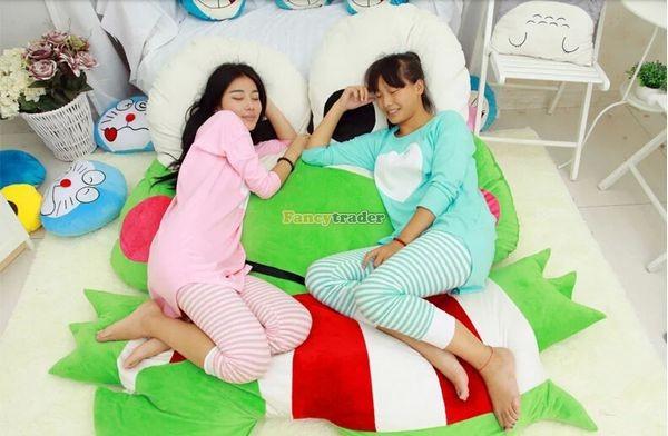 Fancytrader  180cm X 165cm Soft Funny Giant Big eye Frog Bed Carpet Tatami Sofa, FT50317 (11)